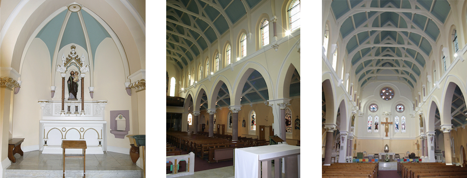 Inside Of St Robert's Roman Catholic Church in Harrogate